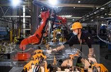 Lợi nhuận các công ty công nghiệp Trung Quốc tăng 6% trong tháng Năm