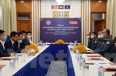 Metfone bàn giao hệ thống hội thảo trực tuyến cho Hiến binh Campuchia