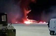 Mỹ: Rơi chiến đấu cơ F-16 tại bang Nam Carolina, phi công thiệt mạng