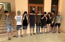 Đột kích quán karaoke, phát hiện 13 đối tượng sử dụng ma túy