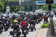 Đức: Bất đồng xung quanh kế hoạch hạn chế tiếng ồn xe máy