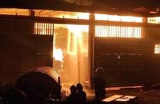 Bà Rịa-Vũng Tàu: Hỏa hoạn thiêu rụi xưởng gỗ quý hàng chục tỷ đồng