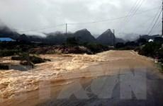 Vùng núi Bắc Bộ tiếp tục có mưa dông kèm thời tiết nguy hiểm
