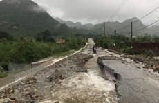 Lai Châu thiệt hại hơn 3 tỷ đồng do hậu quả của mưa lũ