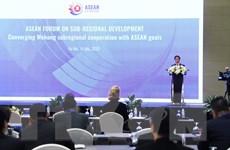 Khu vực Mekong gắn bó mật thiết với sự thịnh vượng chung của ASEAN