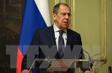 """Ngoại trưởng Nga-Trung Quốc trao đổi """"nhiều vấn đề quan trọng"""""""