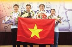 [Infographics] Việt Nam đoạt 4 Huy chương Vàng Olympic Hóa học quốc tế