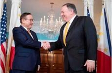 Ngoại trưởng hai nước Mỹ-Philippines thảo luận về vấn đề Biển Đông