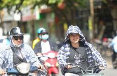 Trung Bộ nắng nóng diện rộng, Hà Nội có nơi trên 36 độ C