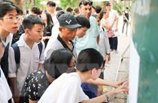 TP.HCM: Điểm chuẩn tuyển sinh vào lớp 10 của các trường đều tăng
