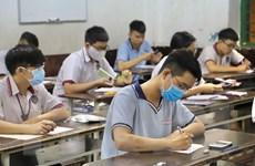 Thi tốt nghiệp THPT: Quảng Nam có 555 thí sinh vắng mặt ngày cuối