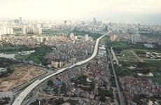 Hà Nội đã hoàn thành 90% đường vành đai 3 trên cao