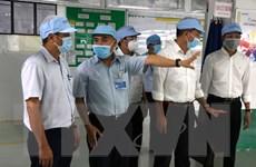 Đà Nẵng: Kiểm tra công tác phòng chống dịch COVID-19 tại các nhà máy