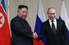 Nga-Triều trao đổi điện mừng nhân ngày giải phóng Bán đảo Triều Tiên