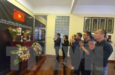 Trang trọng Lễ viếng nguyên Tổng Bí thư Lê Khả Phiêu tại Mozambique