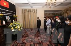 Lễ viếng nguyên Tổng Bí thư Lê Khả Phiêu tại LHQ, Anh và Ukraine