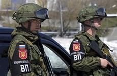 Nga tổ chức tập trận quân cảnh 'Strazh 2020' quy mô toàn đất nước