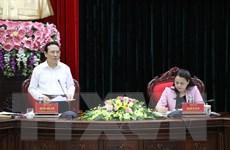 Ban Kinh tế Trung ương làm việc với Ban Thường vụ Tỉnh ủy Ninh Bình