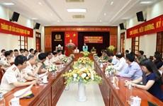 Phó Chủ tịch nước chúc mừng cán bộ, chiến sỹ Công an tỉnh Yên Bái