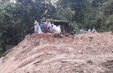 Lào Cai hỗ trợ gia đình các nạn nhân chết và mất tích do mưa lũ