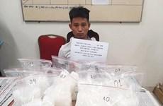 Hà Nội: Bắt giữ đối tượng vận chuyển gần 10kg ma túy đá