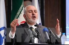 Ngoại trưởng Iran chỉ trích Mỹ bán vũ khí cho các nước Trung Đông