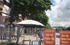 Thành phố Hải Dương tiếp tục duy trì các chốt kiểm dịch COVID-19