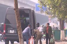 """Xác minh tố cáo CSGT """"bảo kê"""" điểm đón khách trái phép ở Thanh Xuân"""