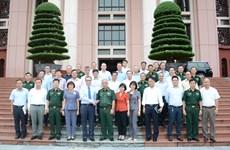 Bộ Quốc phòng gặp mặt Trưởng Cơ quan đại diện Việt Nam ở nước ngoài