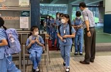 Dịch COVID-19: Nhiều nước châu Á mở cửa lại trường học
