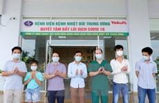 Bệnh nhân COVID-19 nặng ở BV Bệnh Nhiệt đới Trung ương đã khỏi bệnh