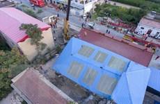 Điện thăm hỏi về vụ sập nhà tại tỉnh Sơn Tây của Trung Quốc
