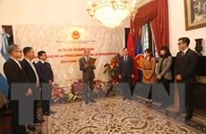 Kỷ niệm 75 năm Quốc khánh Việt Nam tại Argentina, Ai Cập, Campuchia