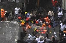 Số người chết trong vụ sập nhà tại Ấn Độ tăng lên con số 20