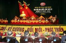 [Photo] Đại hội đại biểu Đảng bộ tỉnh Nam Định lần thứ XX