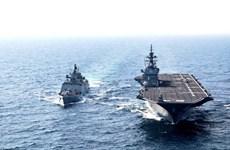 Lực lượng hải quân Ấn Độ và Nhật Bản tham gia tập trận JIMEX lần thứ 4