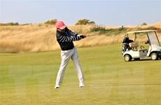 Giải golf kỷ niệm 70 năm quan hệ ngoại giao Việt Nam-Liên bang Nga