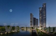 Tập đoàn Ecopark khởi công tòa tháp căn hộ 5 sao đầu tiên