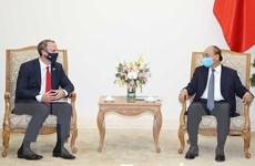 Thủ tướng Nguyễn Xuân Phúc tiếp Bộ trưởng Ngoại giao và Phát triển Anh