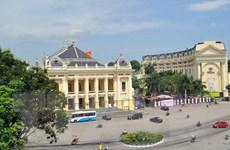 Chỉnh trang đường phố Thủ đô kỷ niệm 1010 năm Thăng Long-Hà Nội