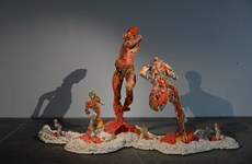 Triển lãm Điêu khắc Hà Nội-Sài Gòn quy mô nhất trong 10 năm qua