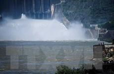 Mở cửa xả đáy hồ thủy điện Tuyên Quang vào 17 giờ ngày 6/10
