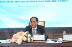 Đại sứ Park Noh Wan: Sẵn sàng kết nối FLC với các đối tác Hàn Quốc