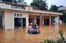 Ứng phó mưa lũ: Quảng Ngãi sơ tán hàng nghìn người dân đến nơi an toàn