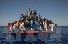 Libya bắt giữ chỉ huy lực lượng bảo vệ bờ biển tham gia buôn người