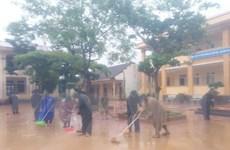 Quảng Bình: Bộ đội giúp nhân dân khắc phục hậu quả mưa lũ