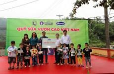 Quỹ sữa Vươn cao Việt Nam và Vinamilk đến với trẻ em vùng cao Yên Bái