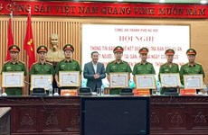 Biểu dương thành tích phá nhanh vụ án sát hại nữ sinh ở Thường Tín