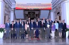 Tăng cường hợp tác giữa Thành phố Hồ Chí Minh và Liên minh châu Âu