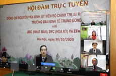 Thúc đẩy hợp tác kinh tế giữa Việt Nam với Mỹ, Nhật Bản và Australia